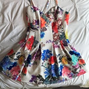 Lovers + friends floral print dress